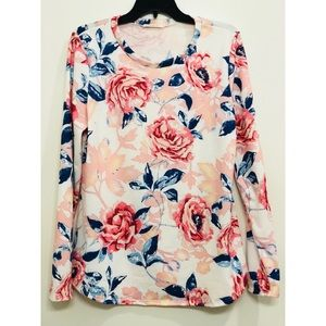 12 PM by Mon Ami for Anthropologie Floral Top